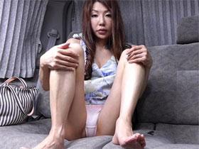 熟女 座りパンチラ